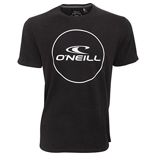 ONeill - Maglietta a maniche corte con logo - Uomo (L) (Nero Black Out)
