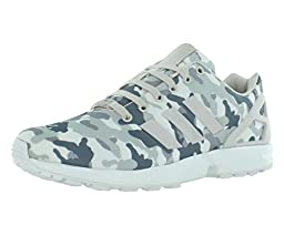 Adidas Zx Flux Men\'s Running Shoes Size US 13, Regular Width, Color Gray/Camouflage