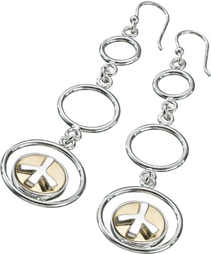 Kameleon Drop Hoop Earrings KE37 (JewelPops Sold Separately)