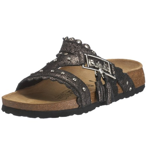 Birkenstock 002183 Betula Krystle Silver Dust 2.5 UK Narrow