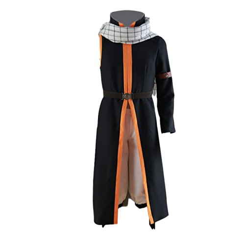 [Fairy's Tail Cosplay Costume Natsu 3rd ver costume after seven years X Large] (Japanese Costumes For Male)