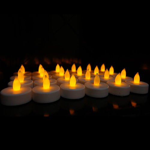 24-Flameless-Battery-Operated-LED-Tea-Light-Flickering-Amber-Tealights-Candles