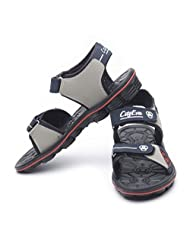 CityEva Men's Black Casual Sandals And Floaters