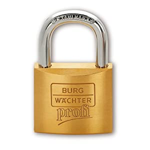 Burg W?chter 116 40 Brass Padlock 40 mm - Padlocks - Amazon.com