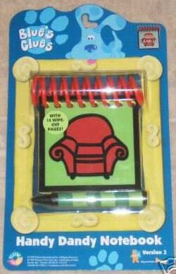Buy Blue's Clues Steve's Handy Dandy Notebook