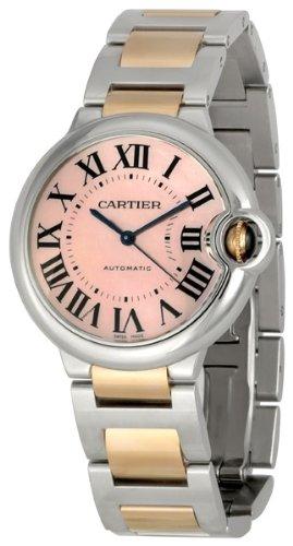 Cartier Men's W6920033 Ballon Bleu de Cartie Pink Mother-Of-Pearl Dial Watch
