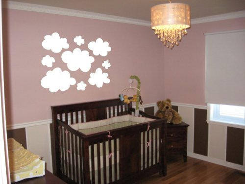 Nursery Clouds - Vinyl Wall Art Decal Stickers Decor Graphics front-907450