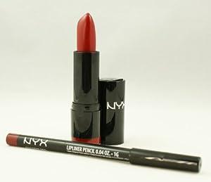 Amazon.com : NYX Extra Creamy Round Lipstick 513 Electra ...  Amazon.com : NY...