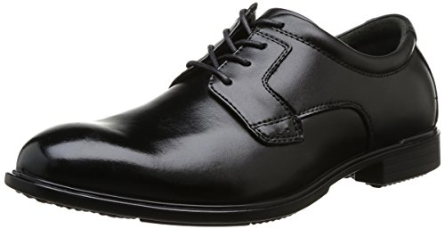 Hush Puppies Vito Oxford Pl, Scarpe stringate uomo, Nero  (Noir (Black Leather)), 43 (9 UK)