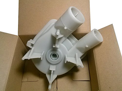 1 X Genuine Replacement Washing Machine Water Drain Pump Part # 3363394 for Whirlpool, Roper, Estate, KitchenAid, Maytag, Sears Kenmore - Replaces 3363394, 8235, 64076, 63347, 62516, 3352492, 3348215, 3348015, 3348014, 62516