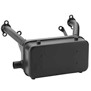 Briggs & Stratton 807799 Super Lo-Tone Muffler For Horizontal Vanguard V-Twin 29, 30 and 35 HP Engines by Magneto Power