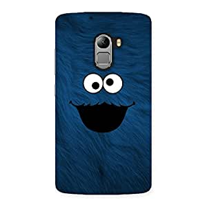 Delighted Blue Funny Ghost Back Case Cover for Lenovo K4 Note