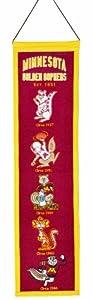 Buy Minnesota Golden Gophers Wool 8x32 Heritage Banner by Caseys