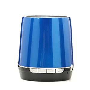 NEEWER® Portable Rechargeable Bluetooth Speaker for iPhone Samsung HTC Laptop PC (Blue)