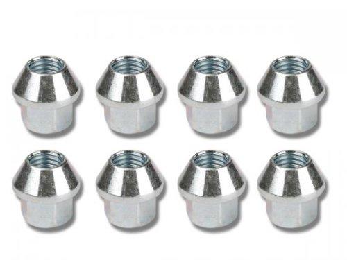 Nuts Set (8 Pieces), M12 X 1.75 Taper