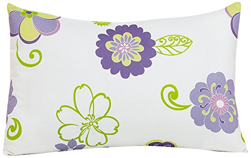Sweet Potato Lulu Small Sham Bedding Set, White/Lavender/Green/Purple