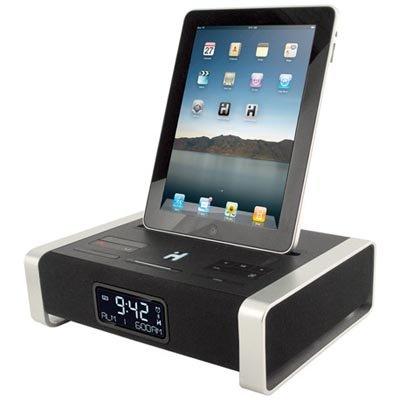 Ihome Ia100Zc App-Enhanced Alarm Clock With Bluetooth And Fm Radio For Ipad, Iphone And Ipod
