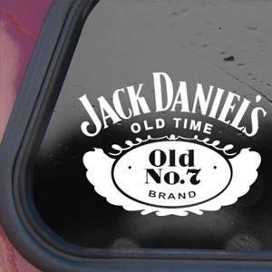 JACK DANIEL White Decal Sticker Wall Laptop Notebook Die-cut White Decal Sticker