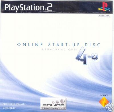 Playstation 2 Online Start-up Disc 4.0