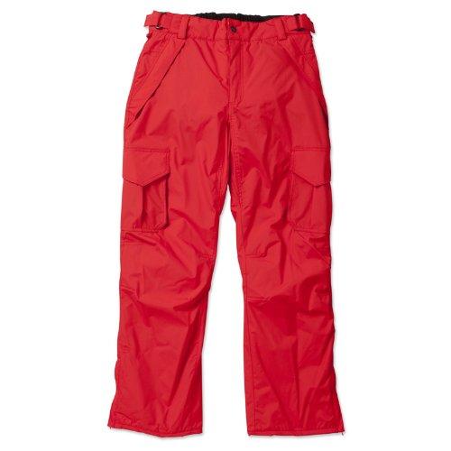 Brunotti Diger - Herren rote Skihose Snowboardhose Gr. S - XL (M)