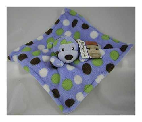 Baby Essentials Monkey Boy Snuggle Blanket