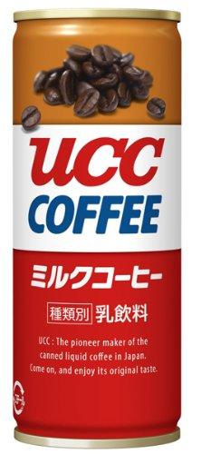 UCC ミルクコーヒー 缶 250g×30個