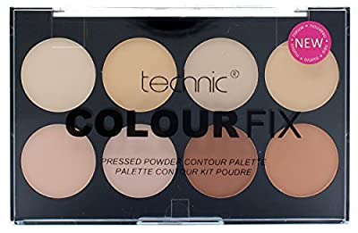 Technic Colour Fix Pressed Powder Bronze Palette - Bronzing Powders Contouring Palette