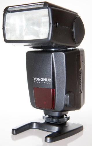 Yongnuo Yn468-Iic-Usa E-Ttl Speedlite Flash For Canon, Gn33, Lcd Display, Us Warranty (Black)
