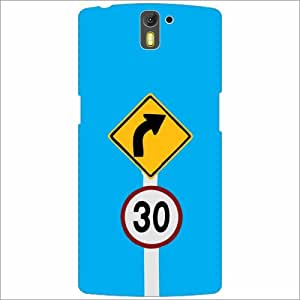 Oneplus One A0001 Back Cover - Route Designer Cases