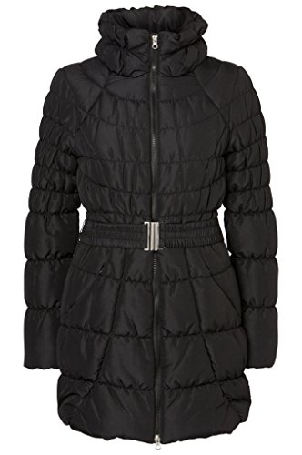 Vero Moda - Luna Nera Donna imbottito cappotto di inverno Taglia S UK 10 EUR 38 USA 6