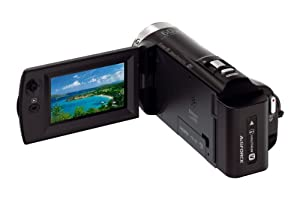 Sony HDR CX330 Full HD Camcorder W-Fi and Case Bundle - Black (Certified Refurbished)