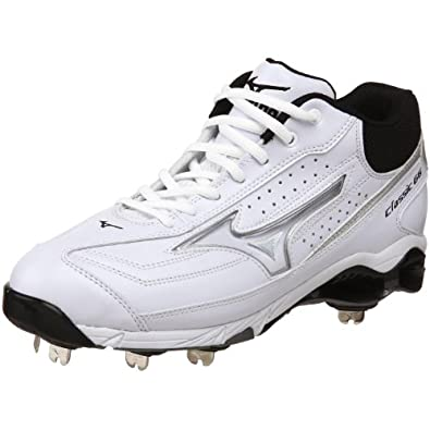 Buy Mizuno Mens 9-Spike Classic G6 Mid Switch Baseball Cleat by Mizuno