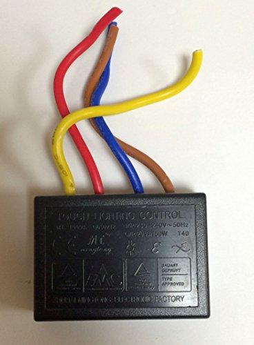 Touchdimmer Touch Dimmer Modul MT-1009A 20 - 150 Watt...