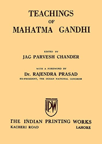 Teachings Of Mahatma Gandhi: By Jag.Parvesh Chander image