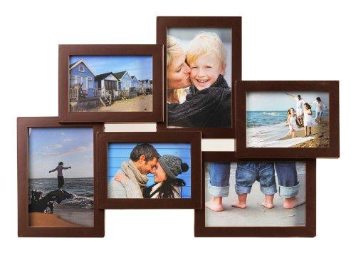 holiday-gallery-galerie-fur-6-fotos-in-9x13-und-10x15-3d-design-foto-collage-farbe-braun