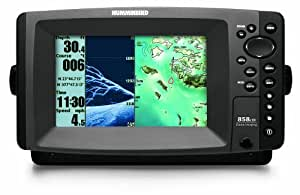 Humminbird 858c di fishfinder gps combo cell for Phone fish finder