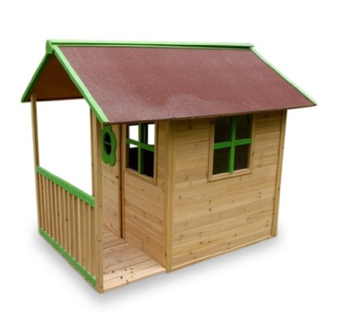 Kinderspielhaus aus Holz - Kinderspielhaus Stelzenhaus
