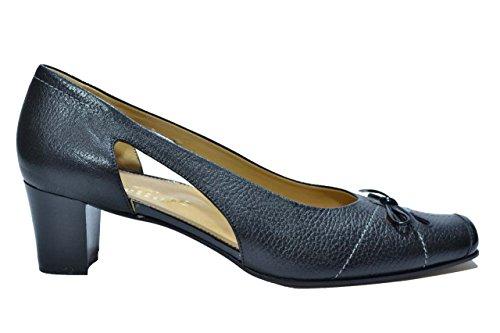Melluso Decolte' scarpe donna nero L205 39œ