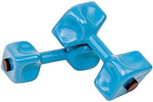Hydro-Tone Water Weight Dumbells - Teal - Pair