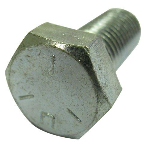 7//16-20 Fine Thread Hex Castle Nut Low Carbon Steel Zinc Plated Pk 200