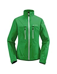 Vaude Womens Tiak Jacket - Grasshopper - 40 - Womens lightweight rain jacket