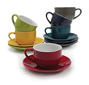 BIA Cordon Bleu Cappuccino Cups, Set of 6