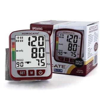 Blood Pressure Monitor, Wrist, Speaking (Advantage Advocate compare prices)