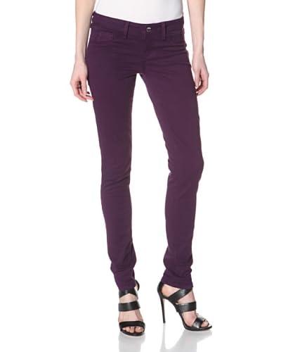 SOLD Design Lab Women's Spring Street Skinny Jean  - Imperial Purple