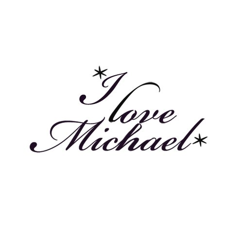 Sweettats I Love Michael Customizable Boyfriend Arm-Sized Temporary Tattoo Pack - 6 Tats Per Pack