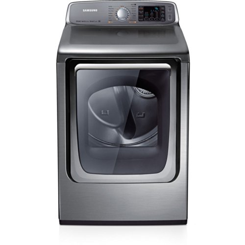 Samsung DV50F9A8EVP Stainless Platinum Electric Front Load Dryer with Steam Dry, 7.4 Cubic Feet