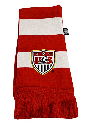 US Soccer Football Official Merchandise USA Scarf Bar (Red Bar) (Us Soccer Merchandise compare prices)