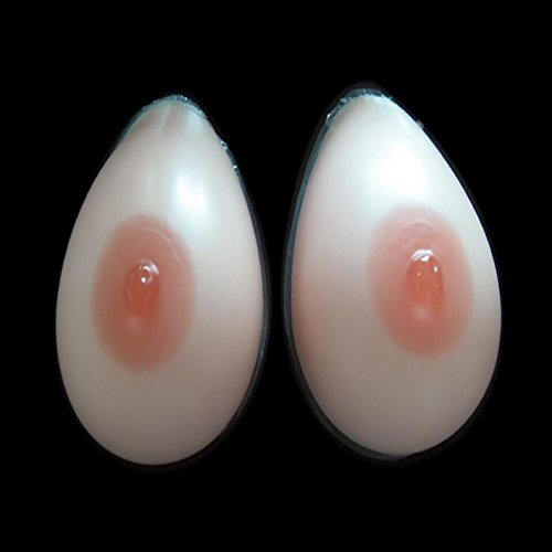 1pair D CUP(1000g)False Breast Artificial Breasts Silicone Breast Forms Fake Boobs Realistic Silicone breast forms