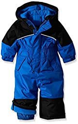 iXtreme Baby Boys\' One Piece Snowmobile Snowsuit, Royal, 12 Months