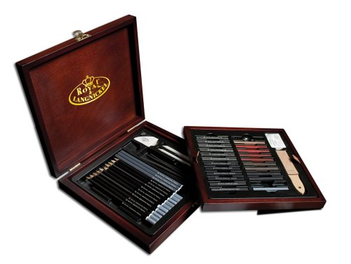Royal & Langnickel Premier Sketch Pencil Art Set, 51-Piece (Pencil Art Box compare prices)